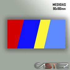 vinilo adhesivo pegatina sticker bandera peugeot raging talbot pts rally decal