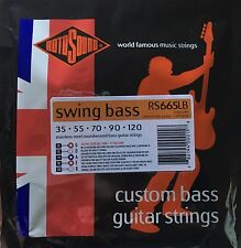 Rotosound RS665LB Bass Guitar Strings 5-String set gauges 35-120