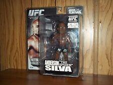 Zuffa Round 5 UFC Ultimate Collector Anderson Silva action figure MOC 2010