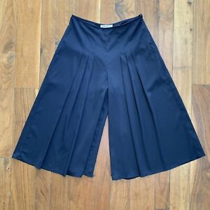 Philosophy Pleated Culottes Wide Midi Pants size 8