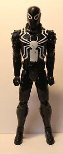"2014 Agent Venom Ultimate Spider-Man 12"" Web Warriors Titan Hero Marvel"