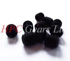 "5 x 1/4"" BSW Whitworth Grub Socket Set Screws 1/2"" long Pack Set Steel Imperial"