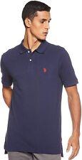 U.S. Polo Assn. 171474 Mens Short Sleeve Classic Polo Shirt navy Size 2X-Large