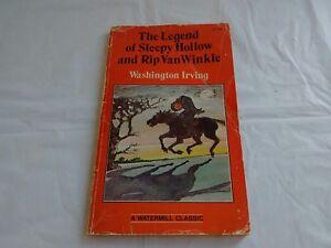 Legend Of Sleepy Hollow & Rip Van Winkle Washington Irving Paperback