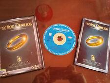 EL SEÑOR DE LOS ANILLOS SET OFFICIAL FOR PC CD-ROM SPANISH BLACK LABEL GAMES