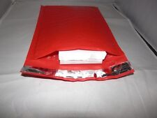 50 STRAWBERRY RED *6x9 Padded Poly Bubble Mailers Premium Quality Shipping Envlp