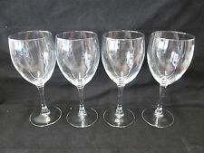 """SET OF 4 Wine Glasses, Goblet, 7.25"""" x 3"""" Restaurant/Catering Equipment, Barware"""