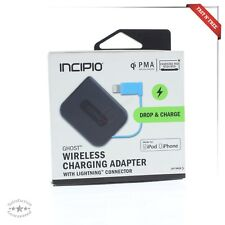 Incipio Ghost QI PMA Wireless Portable Charger w Lightning Charging Cable iPhone
