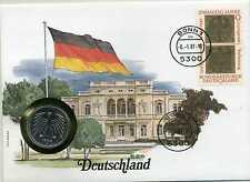 Numisbrief Deutschland 1987 mit 5 DM 1986 D Bund und Beschreibung KI1969