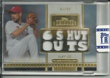 2012 Topps Tribute CLIFF LEE relic #3/99
