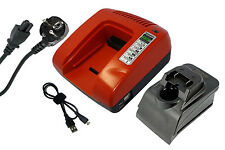 PowerSmart Cargador de batería para Hitachi 329370 329389 BCL 1015 bcl 1030M