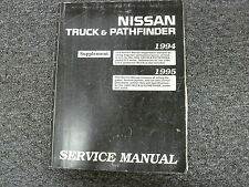 1994 1995 Nissan Pickup Truck Shop Service Electrical Wiring Diagram Manual D21