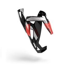 ELITE Custom Race Plus Bike Cycling Water Bottle Cage - Red