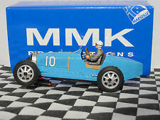 MMK Bugatti Tipo 51 #10 SF 22 Azul Resina le 1:32 Ranura Nuevo Y En Caja