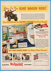 1943 Hotpoint Electric Kitchen Chicago IL Willys Jeep WWII Buy War Bonds Ad photo