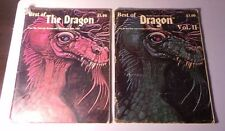 Best of the Dragon Magazine vol. 1-2 Complete Series - Dungeons & Dragons
