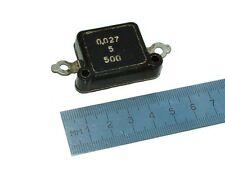 KSO KCO 500V 0.027uF silver mica capacitors. Lot of 18 pcs. NEW, NOS!