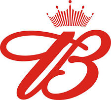 "Budweiser Vinyl Sticker Decal 6"" (red B)"