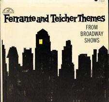FERRANTE AND TEICHER THEMES from broadway shows T 90127 usa paramount LP PS VG/E
