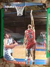 (S31) Poster 82x55 cm ANTONELLO RIVA Philips Milano da Super Basket