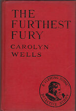 Carolyn Wells - The Furthest Fury - Fleming Stone Detective Story - 1924