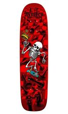 Powell Peralta BONES BRIGADE Rodney Mullen CHESS Skateboard RED