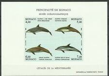 Monaco Dauphins Tursiops Dolphins Delphinen Non Dentelés Imperfs Proofs ** 1992