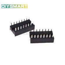 10PCS 16-Pin 16pins DIL DIP IC Socket PCB Mount Connector NEW GOOD QUALITY AU
