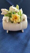 Aynsley January Snowdrop Hand Painted Fine Bone China Flower Posy