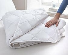 3 tog 100% Cotton Duvet With Cotton Cover & Filling Luxury Bound Edge All Sizes