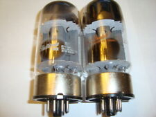 One  Matched Pair of Vintage G.E. 6550A Tubes, Ratings 85, 85
