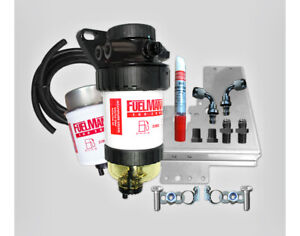 Fuel Manager Pre Filter Separator Kit FM612DPK 30Mic for Toyota Hilux 3L 2005-15
