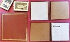 """Faux Leather Slip In Pocket Vintage Photo Album, Fits 96 9 x 13 cm Photos 3 x 5"""""""