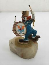 1985 24k Gold Plated Bozo The Clown Handpainted
