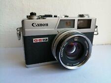 Vintage Canon Canonet QL17, G-III QL 35mm Camera-Superb Condition!