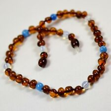 Boys Girls Child amber necklace, Genuine Baltic Amber Beads Necklace