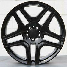 New Listing22 Amg Style Gloss Black Rims Wheels 5x130 Fits Mercedes Benz G500 G550 G55 G63