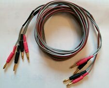 2.5m  LS3/5A vintage Telefunken  speaker cable, Tannoy, Spendor, Harbeth others