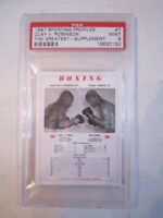 1997 MUHAMMAD ALI SPORTING PROFILES #7 BOXING CARD PSA GRADED 9 MINT