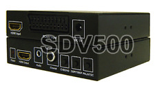 HDMI + Analog 15Khz RGBS Scart To 1080p HDMI Video Scaler