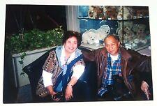 Vintage Photography PHOTO ASIAN COUPLE AT VERY TACKY RESTAURANT TEDDY BEARS CASE