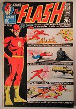 The Flash #205 (1971) VF- DC Giant G-82 The Flash vs. The Reverse Flash!