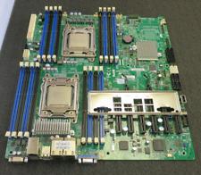 SuperMicro X9DRE-LN4F Motherboard w/ 2 x Intel Xeon E5-2620 + I/O Shield