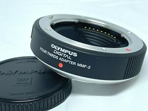 [UNUSED] Olympus MMF-2 Four Thirds Adapter Micro 4/3 Body MFT From JAPAN #782
