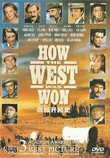 How The West Was Won - James Stewart, John Wayne - UK Compatible Region Free DVD