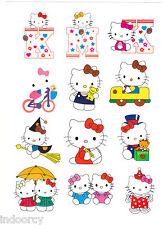 Waterproof Laptop Cute Hello Kitty  Wall Luggage Stickers Car iPad iPhone 12pcs