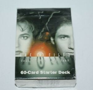 Factory Sealed X-Files Trading Card Game 60 Card Starter Deck - 1996