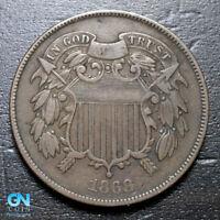 1868 2 Cent Piece  --  MAKE US AN OFFER!  #B3627