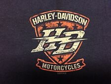 "NYC Skyline Harley-Davidson Men's T-shirt ""All for Victory"" Size:2X- Large"