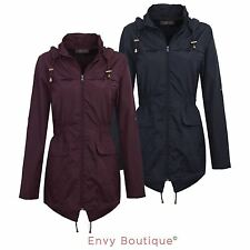 Women's Zip No Pattern Trench Coats, Macs Coats & Jackets